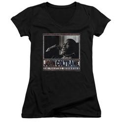 Concord Music - Womens Prestige Recordings V-Neck T-Shirt