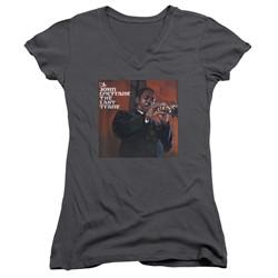 Concord Music - Womens Last Train V-Neck T-Shirt