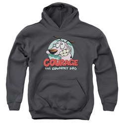 Courage The Cowardly Dog - Youth Courage Pullover Hoodie
