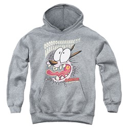 Courage The Cowardly Dog - Youth Scaredy Dog Pullover Hoodie