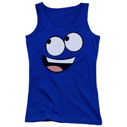 Foster's - Juniors Blue Face Tank Top
