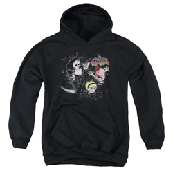 Billy & Mandy - Youth Splatter Cast Pullover Hoodie