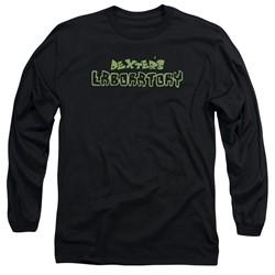 Dexter's Laboratory - Mens Dexter's Logo Long Sleeve T-Shirt