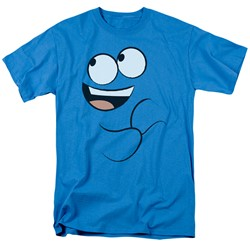Foster's Home Of Imaginary Friends - Mens Blue Smile T-Shirt