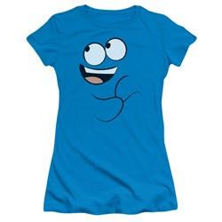 Foster's Home Of Imaginary Friends - Womens Blue Smile T-Shirt