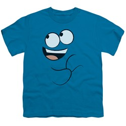 Foster's Home Of Imaginary Friends - Big Boys Blue Smile T-Shirt