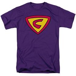 Cow & Chicken - Mens Super Cow Logo T-Shirt