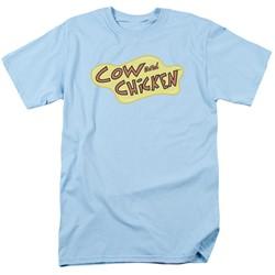 Cow & Chicken - Mens Cow Chicken Logo T-Shirt