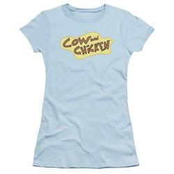 Cow & Chicken - Womens Cow Chicken Logo T-Shirt