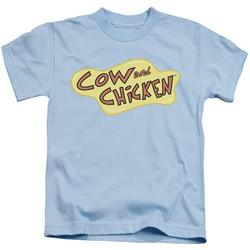 Cow & Chicken - Little Boys Cow Chicken Logo T-Shirt