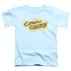 Cow & Chicken - Toddlers Cow Chicken Logo T-Shirt