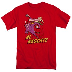 Cow & Chicken - Mens Al Rescate T-Shirt