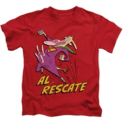 Cow & Chicken - Little Boys Al Rescate T-Shirt