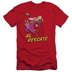 Cow & Chicken - Mens Al Rescate Slim Fit T-Shirt