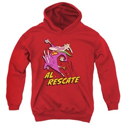 Cow & Chicken - Youth Al Rescate Pullover Hoodie
