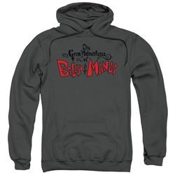 Grim Adventures Of Billy & Mandy - Mens Grim  Logo Pullover Hoodie