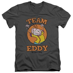 Ed Edd N Eddy - Mens Team Eddy V-Neck T-Shirt