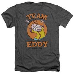Ed Edd N Eddy - Mens Team Eddy Heather T-Shirt