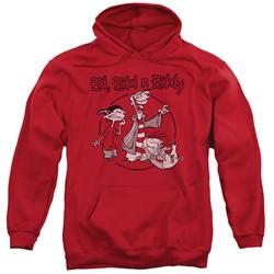 Ed Edd N Eddy - Mens Gang Pullover Hoodie