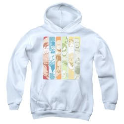 Dc - Youth Justice League Columns Pullover Hoodie