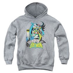 Dc - Youth Heroic Trio Pullover Hoodie