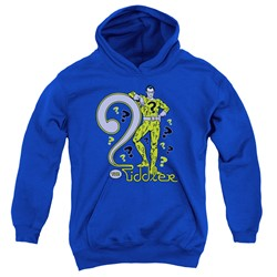 Dc - Youth The Riddler Pullover Hoodie