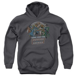 Dc - Youth Join The Justice League Pullover Hoodie