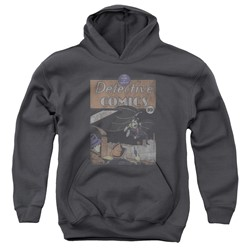 Dc - Youth Detective #27 Distressed Pullover Hoodie