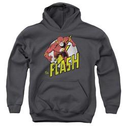 Dc - Youth Run Flash Run Pullover Hoodie