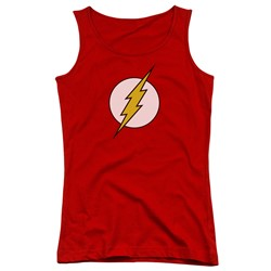 Dc - Juniors Flash Logo Tank Top
