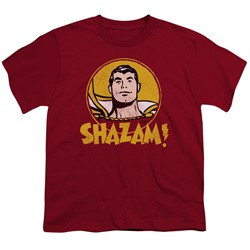 Dc - Big Boys Shazam Circle T-Shirt