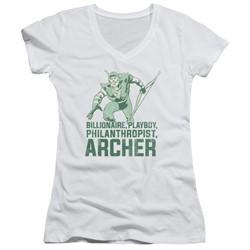 Dc - Womens Archer V-Neck T-Shirt