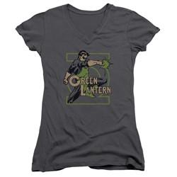 Dc - Womens Ring Power V-Neck T-Shirt