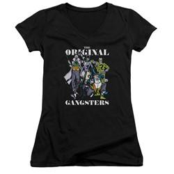 Dc - Womens Original Gangsters V-Neck T-Shirt