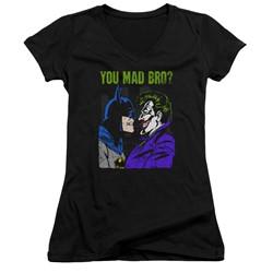 Dc - Womens Mad Bro V-Neck T-Shirt