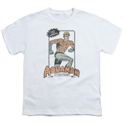 Dc - Big Boys Am Action Figure T-Shirt
