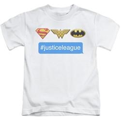 Dc - Youth Hashtag Jla T-Shirt