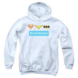 Dc - Youth Hashtag Jla Pullover Hoodie