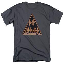 Def Leppard - Mens Distressed Logo T-Shirt