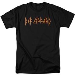 Def Leppard - Mens Horizontal Logo T-Shirt