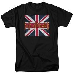 Def Leppard - Mens Union Jack T-Shirt