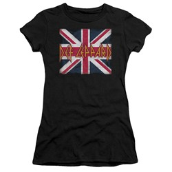 Def Leppard - Womens Union Jack T-Shirt