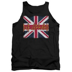 Def Leppard - Mens Union Jack Tank Top