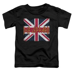 Def Leppard - Toddlers Union Jack T-Shirt