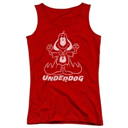 Underdog - Juniors Outline Under Tank Top