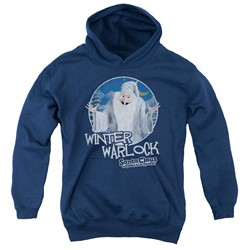 Santa Claus Is Comin To Town - Youth Winter Warlock Pullover Hoodie
