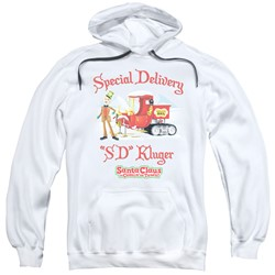 Santa Claus Is Comin To Town - Mens Kluger Pullover Hoodie