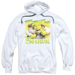 Shrek - Mens Ogres Need Love Pullover Hoodie