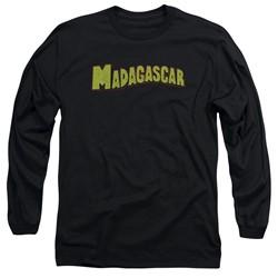 Madagascar - Mens Logo Long Sleeve T-Shirt