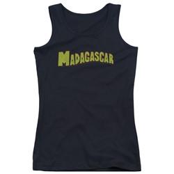 Madagascar - Juniors Logo Tank Top